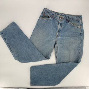 Vintage Levi's Jeans 550 Relaxed Fit Orange Tab High Rise 36x32